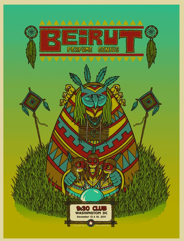 Image of BEIRUT @ 930 CLUB, DC - 2011