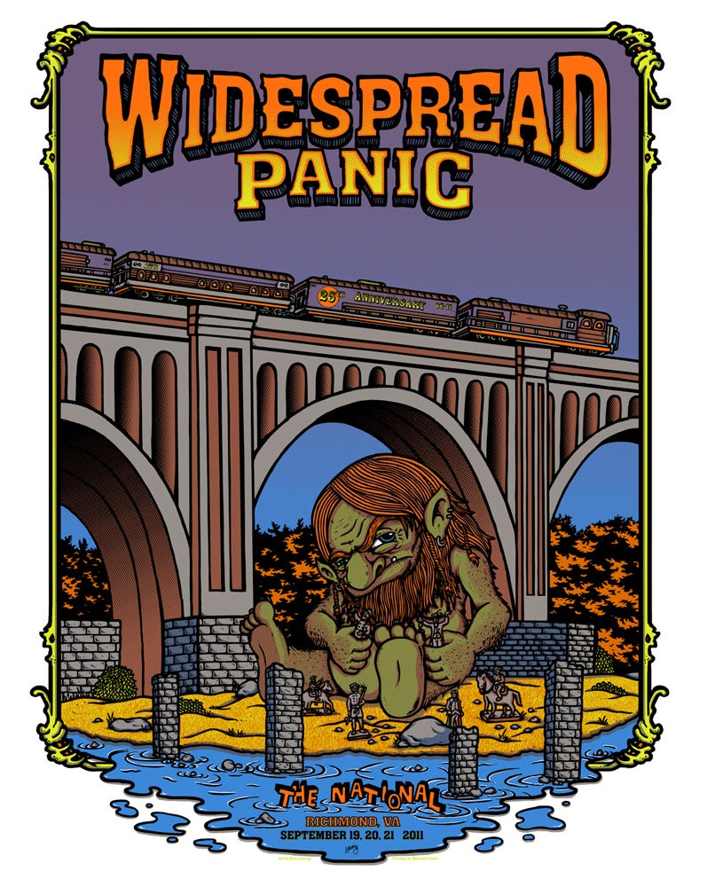 Image of WIDESPREAD PANIC @ RICHMOND, VA - 2011