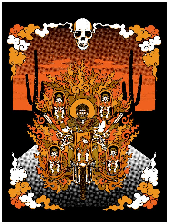"Image of ""RAISING ARIZONA"" Art print"