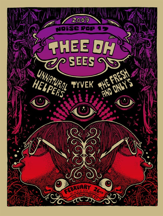 Image of THEE OH SEES @ CAFE DU NORD (CA) - 2009