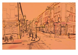 Image of Brick Lane - greetings card