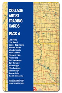 Image of Collage Artist Trading Cards, Pack Four