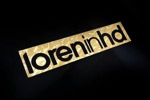 "Image of ""New Style"" LORENinHD stickers"