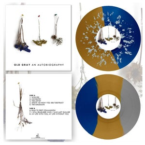 "Image of DK038: Old Gray - An Autobiography 12"" LP - 3rd Press - Half/Half w/ Splatter 150, Tri-Colour /150"