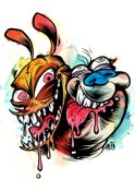 Image of Ren and Stimpy (Print)