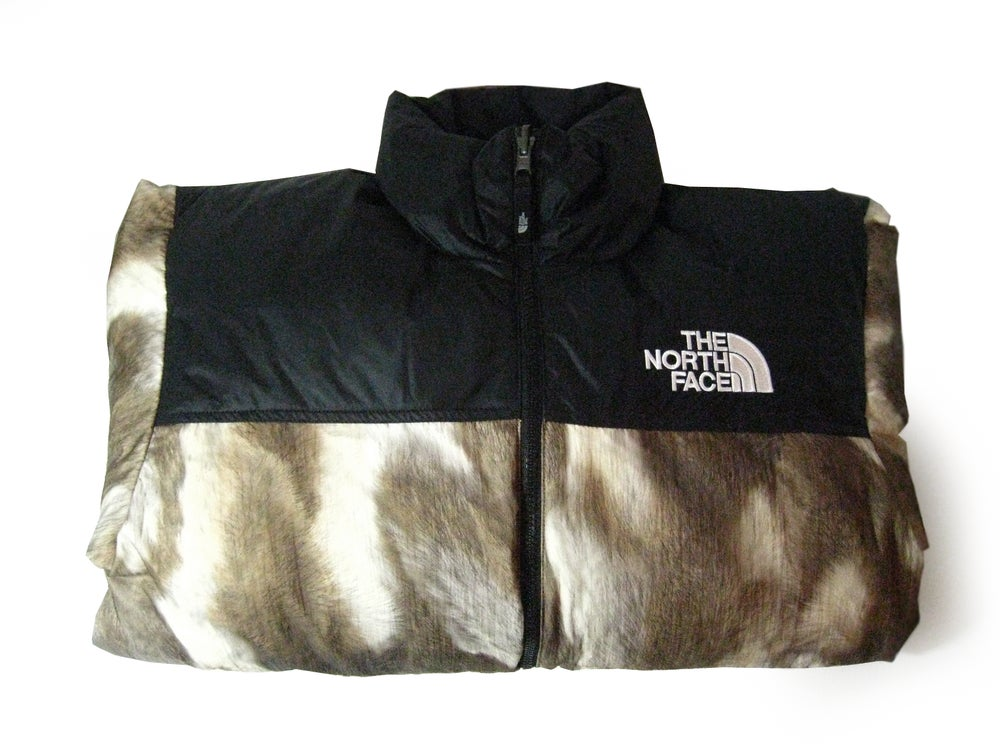 adc59c3d9 The North Face x Supreme Fur Print Nuptse Down Jacket S