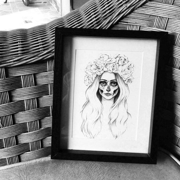 Image of Lady Macdeath Print