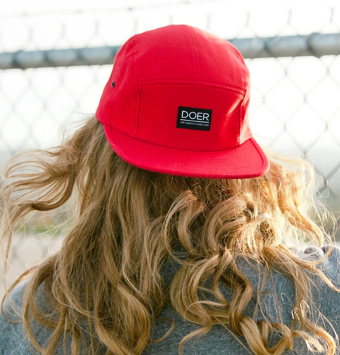 Image of 5 Panel 'Doer' Cap