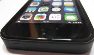"Image of Natural Koa wood phone case (""blank"" with no image)"