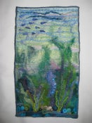 Image of Enchantment Under The Sea Mini Art Quilt