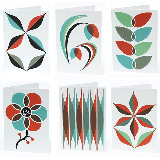 Image of NOTECARD SET 'Fauna Flora' collection