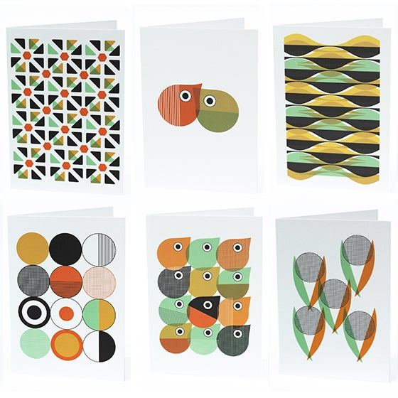 Image of NOTECARD SET 'Barcelona' collection