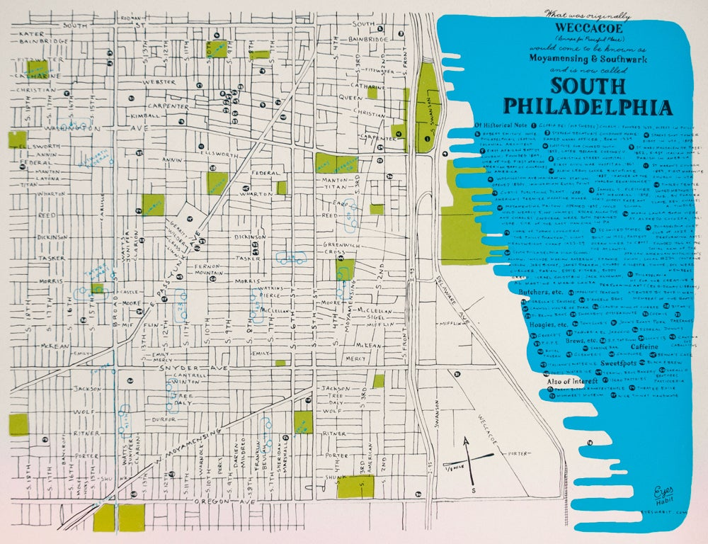 Image of The South Philly Map