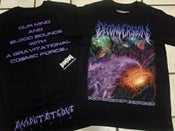 "Image of Deconversion T-SHIRT - Cover Art ""Incertitude of Existence"""