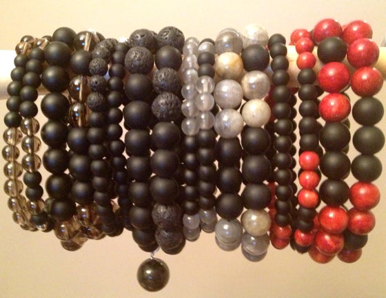 Image of Men's 10mm Infinity Wrist Malas & Bracelets