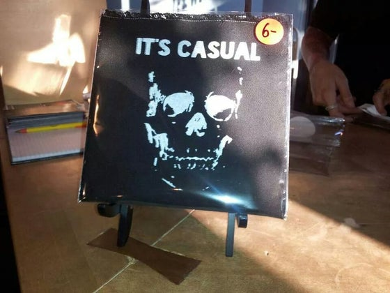 "Image of It's Casual + Early Man Split 7 "" vinyl"