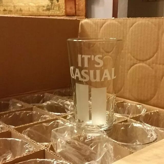 Image of Made In The USA Pint Glasses