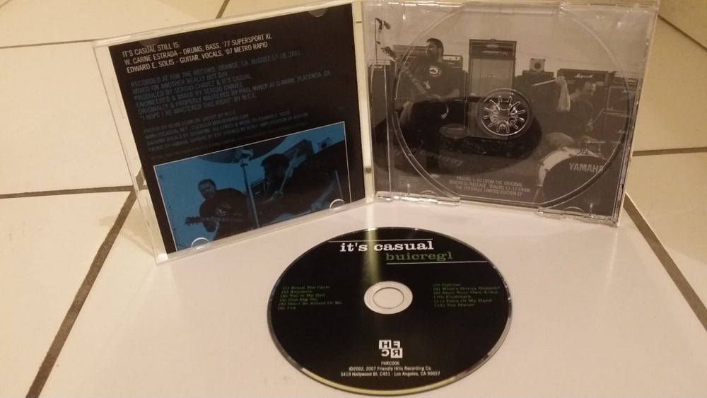 """Image of It's Casual """" Buicregl """" CD"""