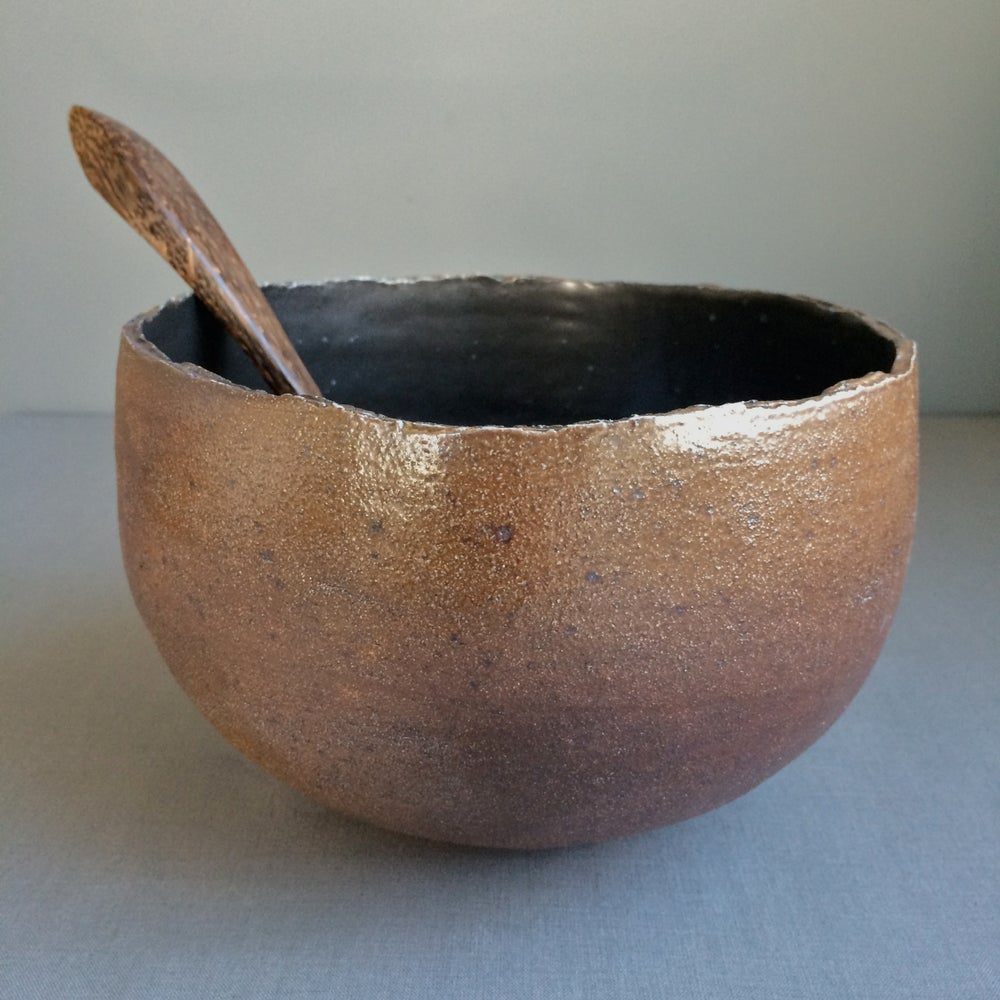 Image of Tall Wood-Fired Medium Serving Bowl