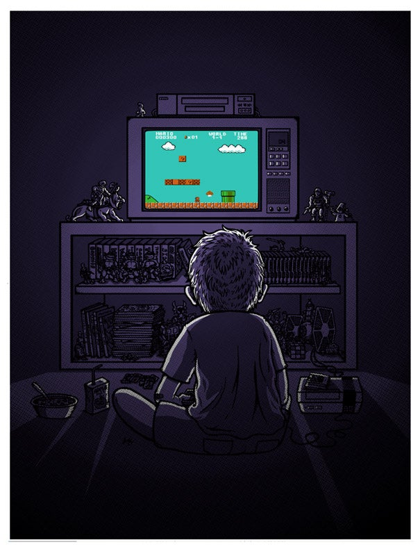 "Image of ""1986"" NES-Kid sticker"
