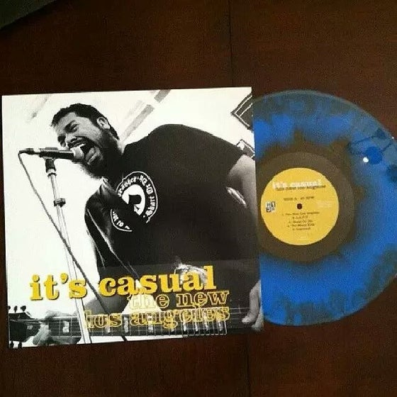 "Image of 3rd Release "" The New Los Angeles I"" vinyl"