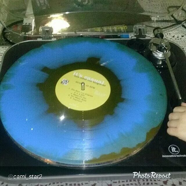 """Image of 3rd Release """" The New Los Angeles I"""" vinyl"""