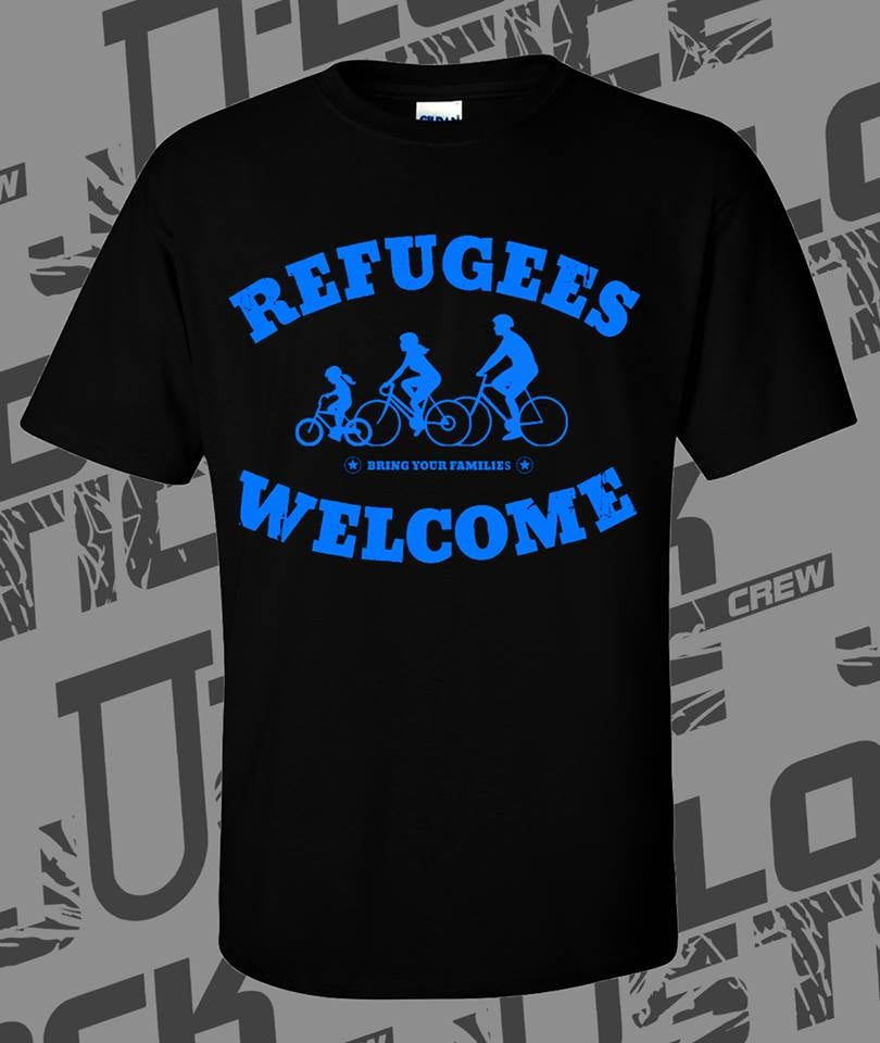 Image of Refugees Welcome Soli T-Shirt