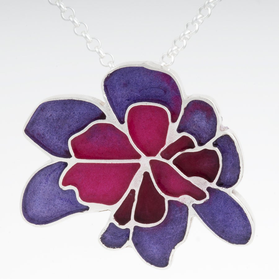 Image of Resinate Wisha Pendant- Purples