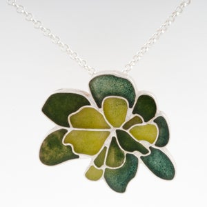 Image of Resinate Wisha Pendant-Greens