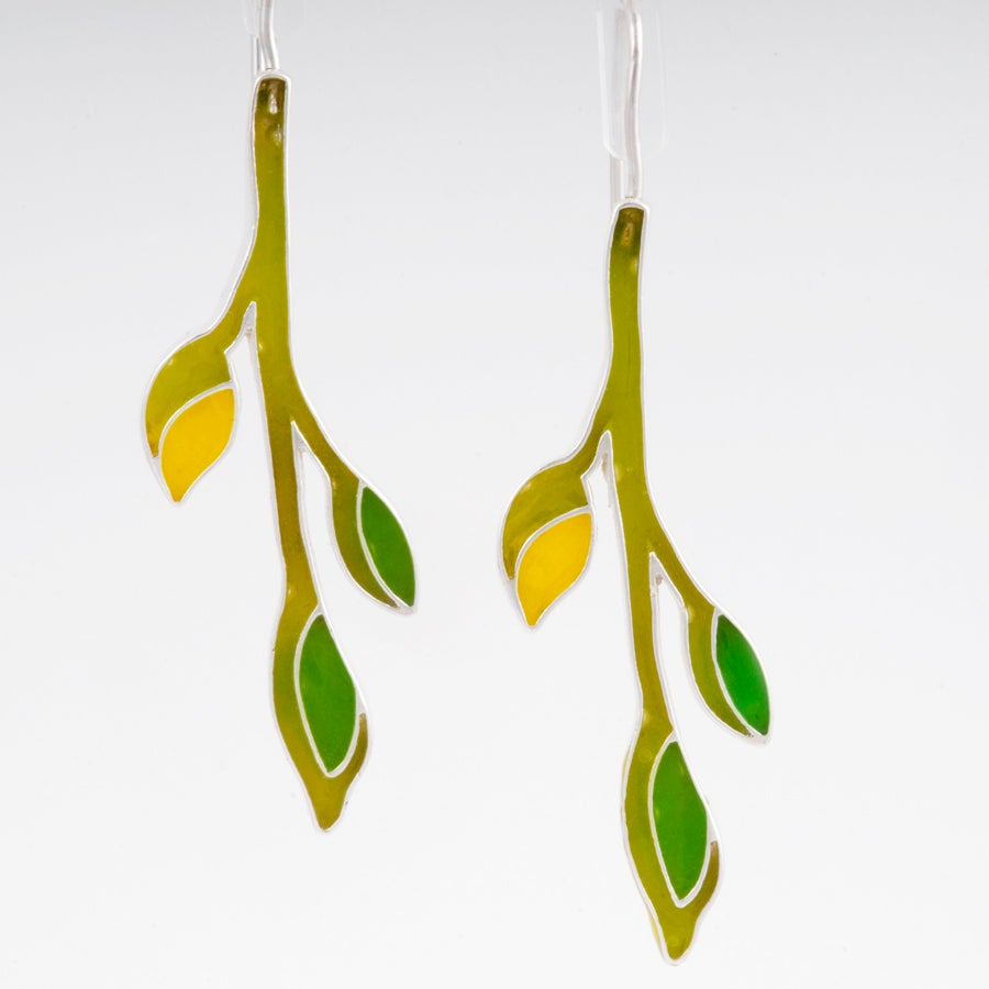 Image of  Resinate Vine Earrings