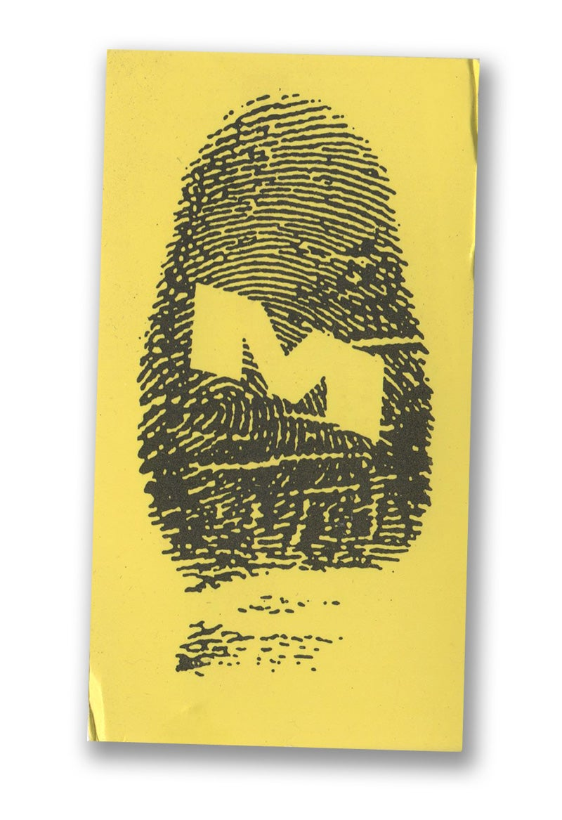 Image of 1990 Original first ever Microdot business card