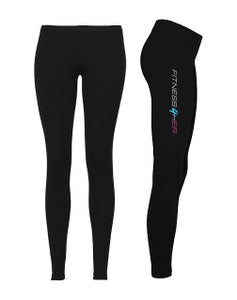"Image of Fitness4Her - ""Black"" Bella Leggings"