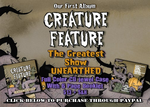 Image of The Greatest Show Unearthed CD (Album #1)