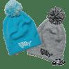 SIKA flow logo bobble hats