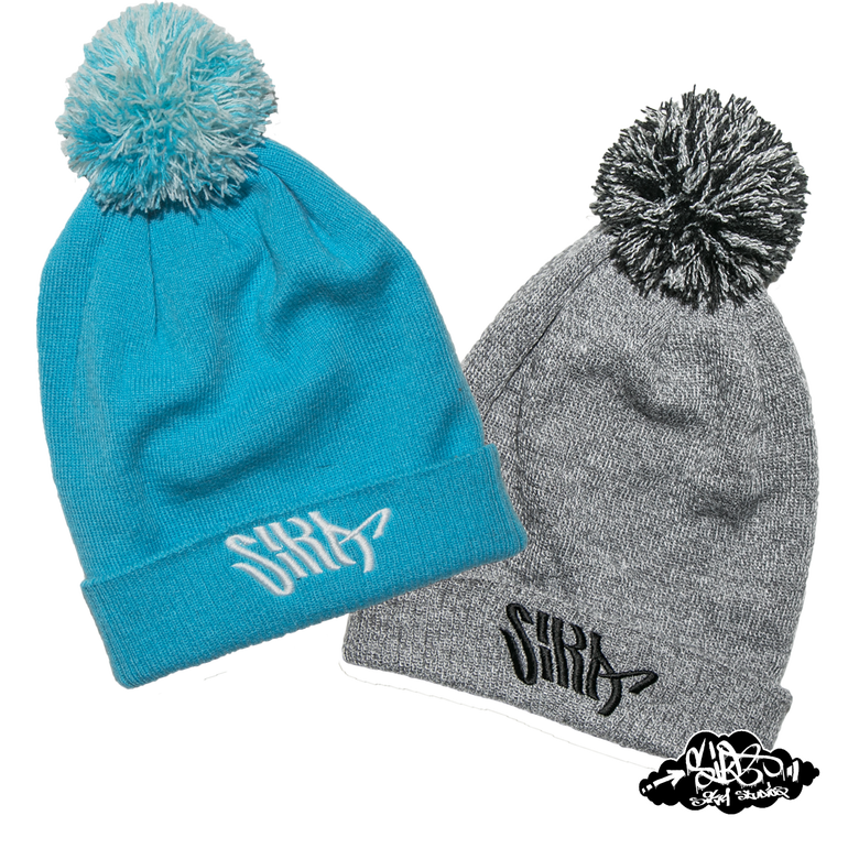 Image of SIKA flow logo bobble hats