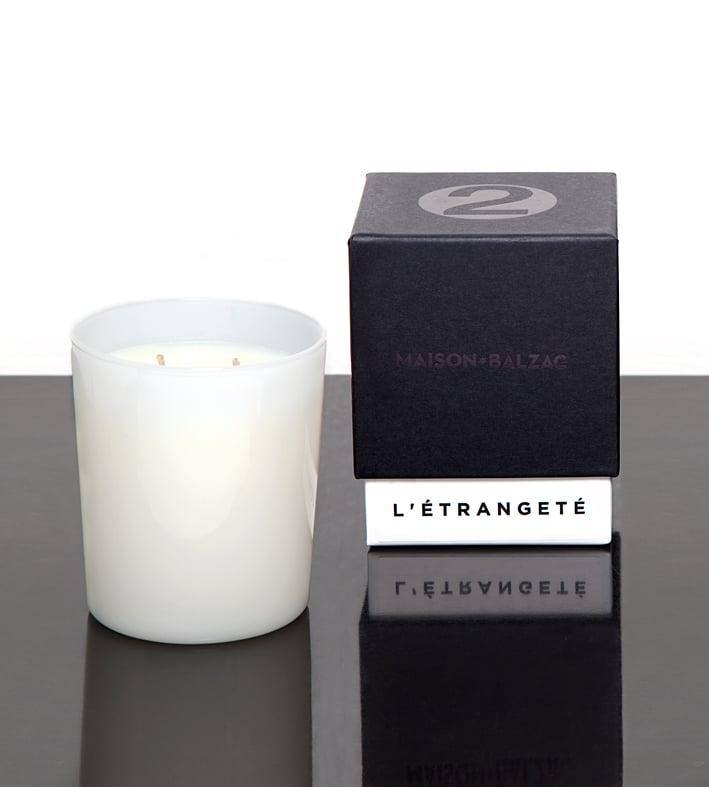 Image of ETRANGETE Large Candle - Maison Balzac X Lyn&Tony