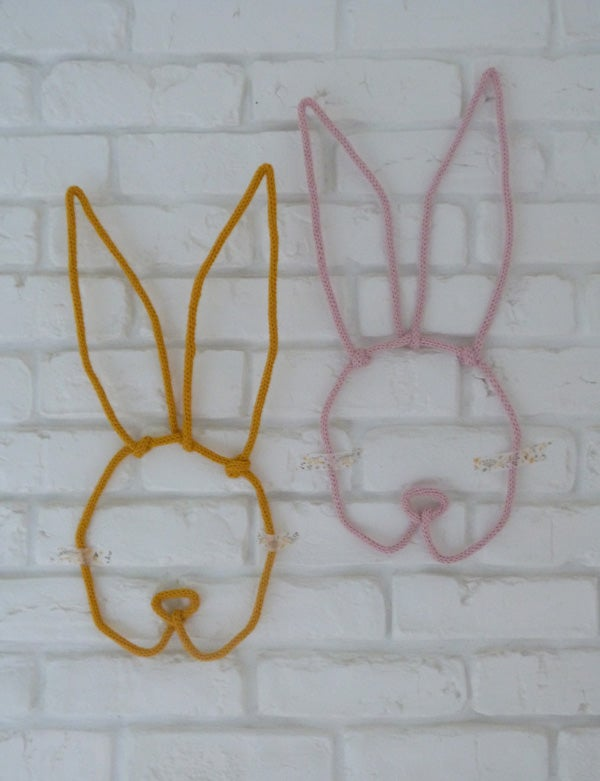 Image of Luce/Lucien {lapin tricotin}