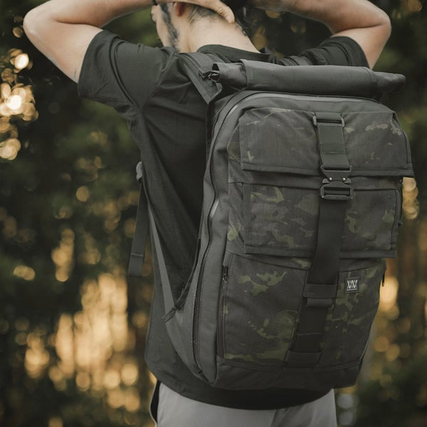 Image of Black Camo Cargo Packs