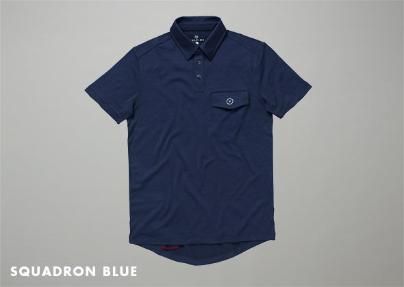 Image of Men's Short Sleeve Merino Polo
