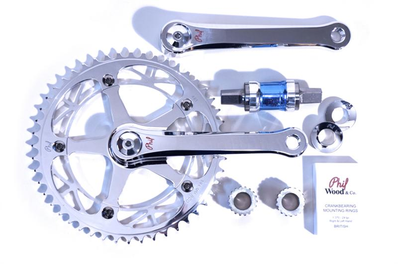 Image of Phil Wood Track Crank Set