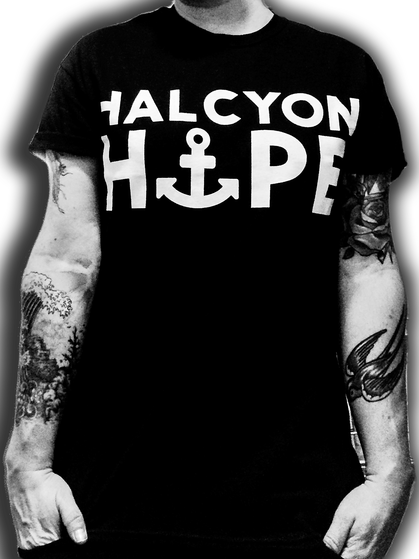 Image of Halcyon Hope - Anchorage Tee