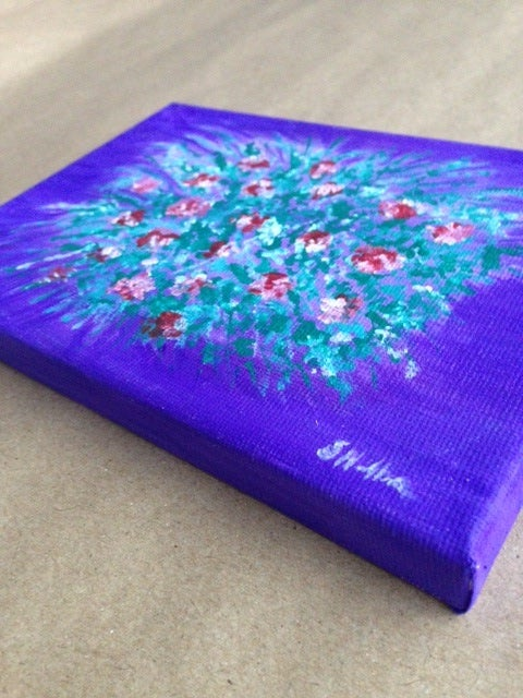 Image of Burst of Flower (Canvas)