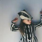 "Image of Masque ""Animalesque"" de Sara Lowes. Blaireau"
