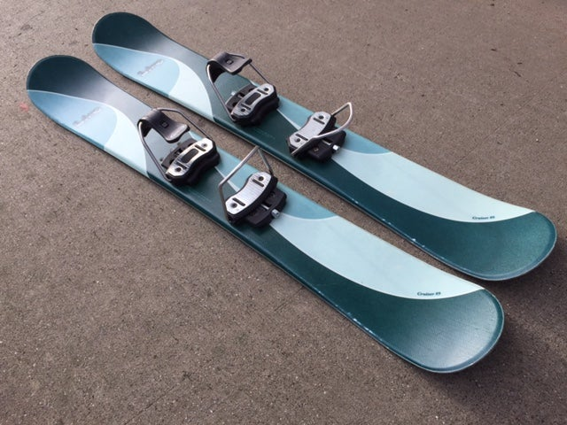Image of Line Cruiser 89 Snowblades Short Trick Skis w/Line bindings