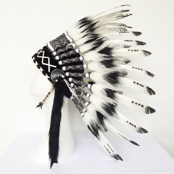 Image of Kids Feather Headdress - Assorted Colours
