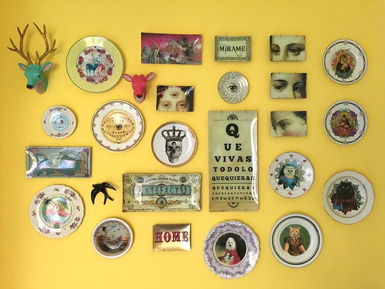 Image of Kingnientas - Vintage Porcelain Plate - King Kong #0556