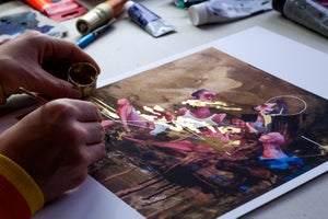 Image of Gold Rush Hand Embellished Edition By Sepe