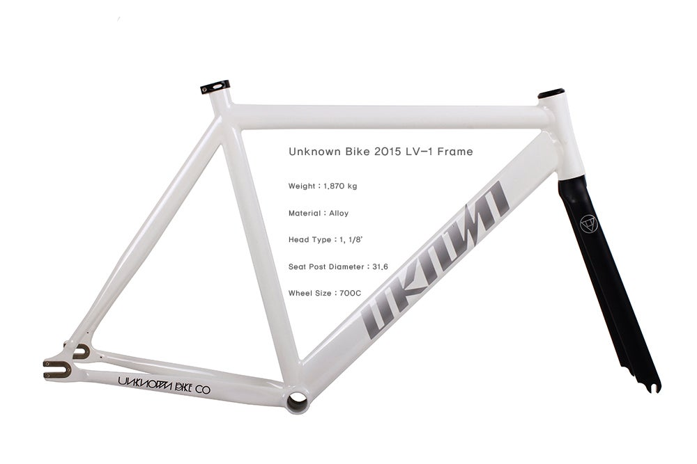 Image of UNKNOWN BIKES LV1 Frame Set