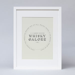 "Image of ""Whisky Galore"" Print"