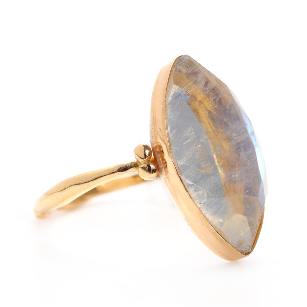 Image of Marquise Moonstone Ring